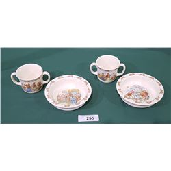 4 PCS ROYAL DOULTON BUNNYKINS CHINA