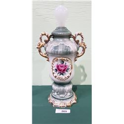 VICTORIAN PORCELAIN TABLE LAMP