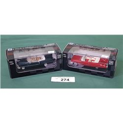 2 NIB NEW RAY DIE CAST CARS