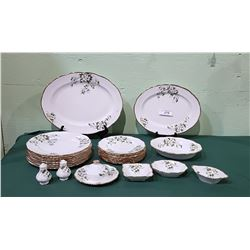 "APPROX 27 PC SET OF ROYAL ALBERT ""WHITE DOGWOOD"" CHINA"