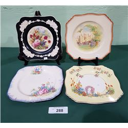 4 VINTAGE COLLECTIBLE PLATES