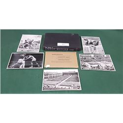 ORIGINAL 1936 OLYMPICS NAZI SOUVENIR PHOTO PACK & HITLER BOOK