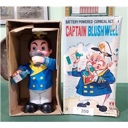 VINTAGE CAPTAIN BLUSHWELL FIGURE IN ORIGINAL BOX