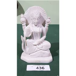 ASIAN CARVED SOAPSTONE FIGURINE