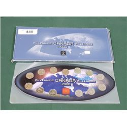 ROYAL CANADIAN MINT MILLENIUM UNCIRCULATED COIN SET