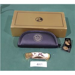 NIB FRANKLIN MINT COLLECTIBLE KNIFE