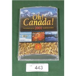 SEALED ROYAL CANADIAN MINT 2001 UNCIRCULATED COIN SET