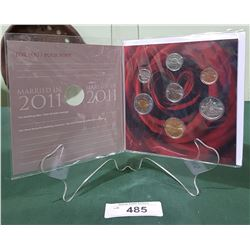 SEALED ROYAL CANADIAN MINT 2011 MARRIAGE UNCIRCULATED COIN SET