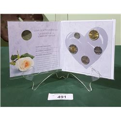 SEALED ROYAL CANADIAN MINT 2017 MARRIAGE UNCIRCULATED COIN SET