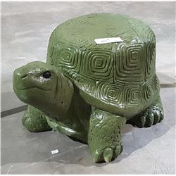 LARGE HIGHLY DETAILED CONCRETE TORTOISE STATUE