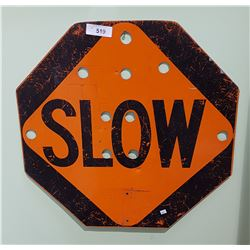 DOUBLE SIDED TRAFFIC CONTROL SIGN