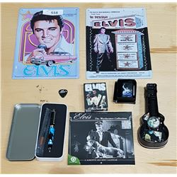 COLLECTION OF NEW ELVIS COLLECTIBLES