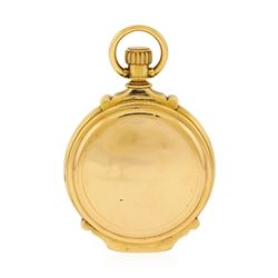 Antique Elgin Pocket Watch - 14KT Rose Gold