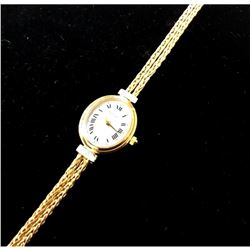 Rare Henry Briks & Sons 14K Gold Ladies Wrist Watch