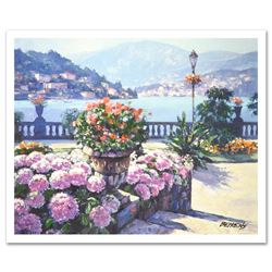 On Lake Como by Behrens (1933-2014)