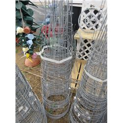 "LARGE QTY OF TOMATO CAGES 16"" DIAM"