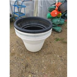 FLOWER POTS QTY  26""