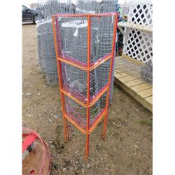 6 WIRE GARDEN TRELLISSES