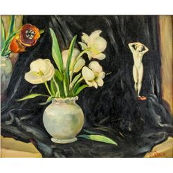 W. Patrick Signed Canadian XX Still Life Painting