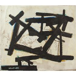 FRANZ KLINE American 1910-1962 Oil on Canvas