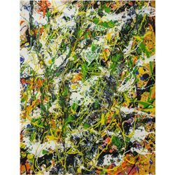 JACKSON POLLOCK American 1912-1956 Oil on Canvas