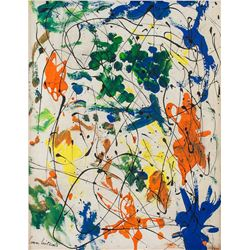 JOAN MITCHELL American 1925-1992 Oil on Canvas
