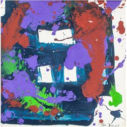 SAM FRANCIS American 1923-1994 OOC Abstract
