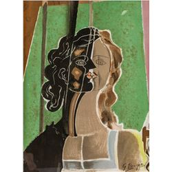 Teriade Ed. Litho The Figure by GEORGES BRAQUE