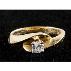 0.21ct Diamond Solitaire Ring CRV $2450