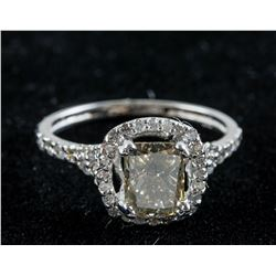 1.23ct Diamond & 0.40ct Diamond Ring CRV $10800