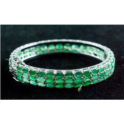 15.0ct Emerald Bangle CRV $3050