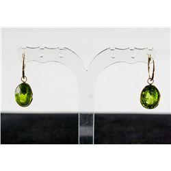 12.5ct Large Peridot Earrings CRV $1350