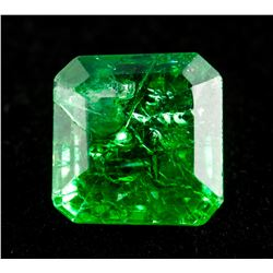 7.0ct Natural Colombia Emerald with Certificate