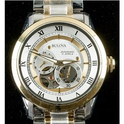 Bulova Automatic Two-Toned Men's Watch RV $500