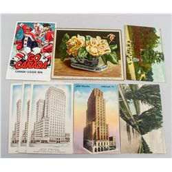 8 Assorted Old Canadian and American Postcards