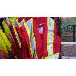 3 NEW BIG K HIGH VISIBILITY VESTS SIZE XL