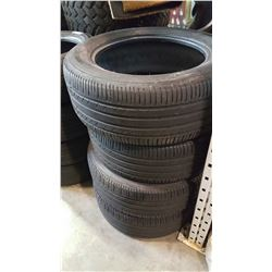 SET OF 4 MICHELIN 255/55 R18 TIRES