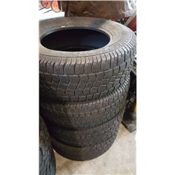 SET OF 4 AVALANCHE 275/65 R18 TIRES