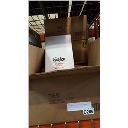 4 BOXES OF GOJO HAND CLEANER