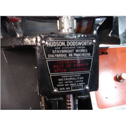 HUDSON DODSWORTH HALF PRINT MEASURING DEVICE
