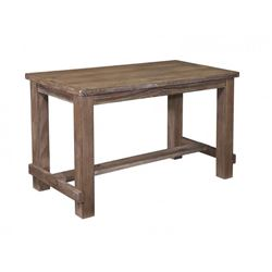 NEW ASSHLEY SIGNATURE COUNTER HEIGHT RUSTIC FARMHOUSE DINING TABLE RETAIL $1299