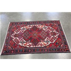 PERSIAN HAND KNOTTED RUG 3 X 5