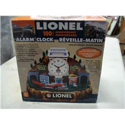 100TH ANNIVERSARY LIONEL TRAIN ALARM CLOCK NEW IN BOX
