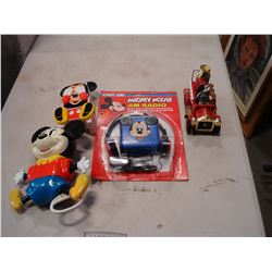 VINTAG MICKEY MOUSE COLLECTIBLES