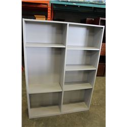 GREY 6 FOOT SHELF