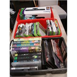 3 TOTES XBOX 360 AND PS3 GAMES MOVIES AND XBOX 360 KINECT
