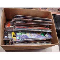 BOX OF COLLECTIBLE DC COMICS