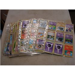 VINTAGE POKEMON CARDS IN ALBUM SLEEVES