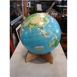 CARTOCRAFT SIMPLIFIED PHYSICAL 16 INCH GLOBE