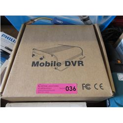 New Mobile DVR (H.264) - 4 Chanel